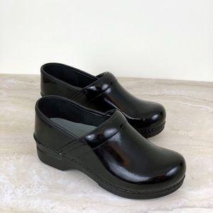 Dansko Nursing Clogs Shoes Black Size 38